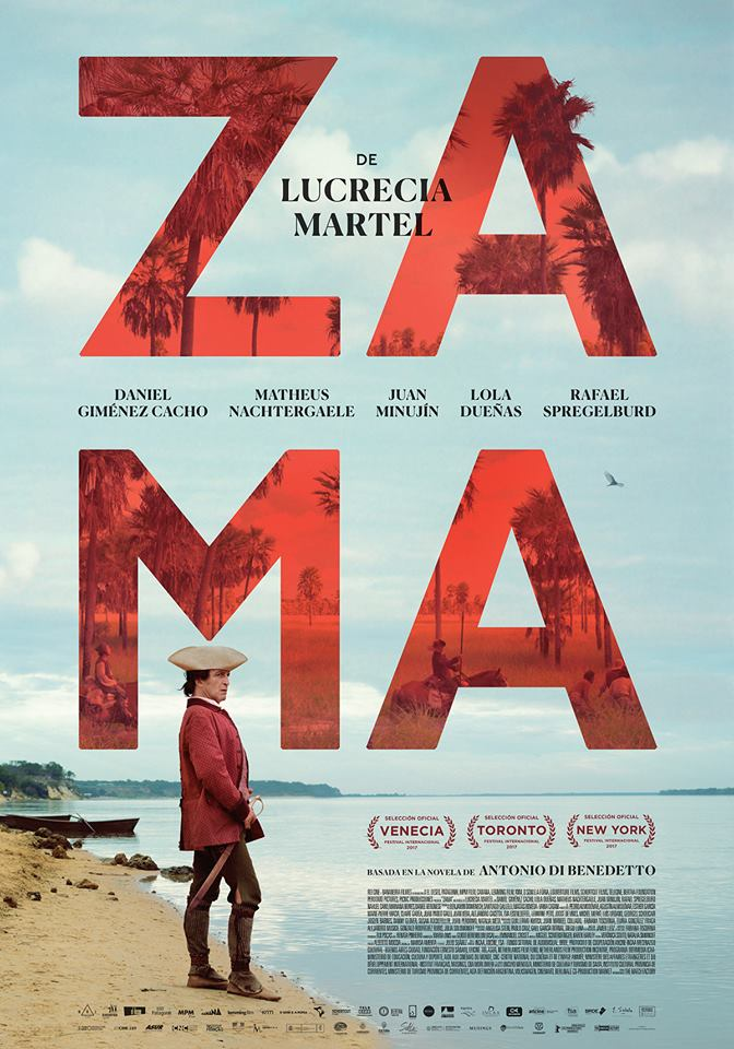 <p>Zama, an officer of the Spanish Crown born in South America, waits for a letter from the King granting him a transfer from the town in which he is stagnating, to a better place. His situation is delicate. He must ensure that nothing overshadows his transfer. He is forced to accept submissively every task entrusted to him by successive Governors who come and go as he stays behind. The years go by and the letter from the King never arrives. When Zama notices everything is lost, he joins a party of soldiers that go after a dangerous bandit.With the support of Centre national du cinéma et de l'image animée,Institut Français, Instituto Nacional de Cine y Artes Audiovisuales (INCAA), Instituto de la Cinematografía y de las Artes Audiovisuales (ICAA), L'Aide aux Cinémas du Monde, Ministère des Affaires étrangères et du Développement International, Netherlands Film Fund, Programa Ibermedia.    </p>
