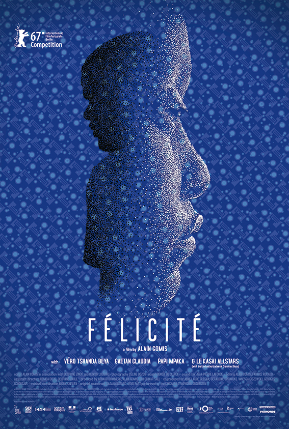 <p>Félicité sings in a bar in Kinshasa. When her 14-year-old son has a motorcycle accident, she goes on a frantic search through the streets of Kinshasa, a world of music and dreams.&nbsp;And her path crosses that of Tabu.</p>